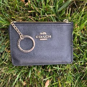 Coach Cardholder / Mini Wallet with Keyring